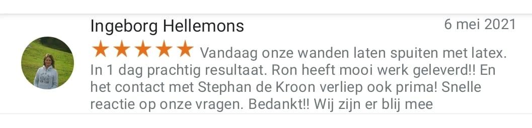 Review van De Kroon Latex Spuiten